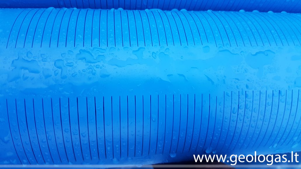 Vandens gręžinys - plyšinis filtras