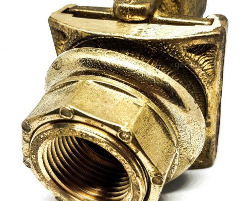 Vandens grezinio adapteris - montuojamas į gręžinio vamzdį 1,7m gylyje - vaizdas iš priekio