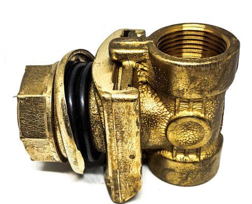 Vandens grezinio adapteris - vaizdas iš šono, EMS firmos